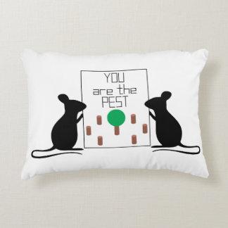 Pest Accent Pillow