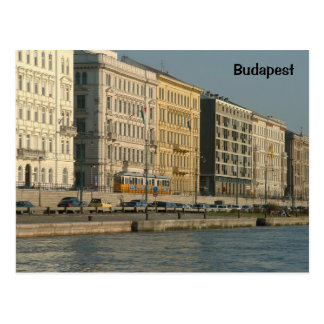 Pest and the Danube Postcard