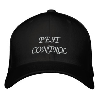 PEST CONTROL EMBROIDERED HAT