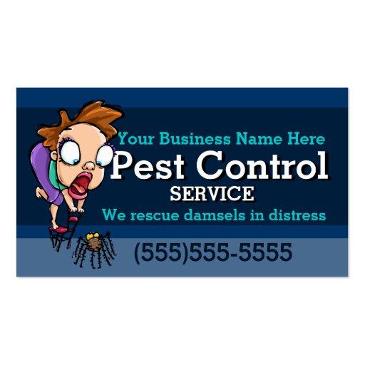 Pest Control.Exterminator.Animal trap.Customizable Business Card Templates
