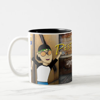 Pest Control International - Pestcontrolizer Two-Tone Coffee Mug