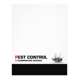Pest control service custom flyer