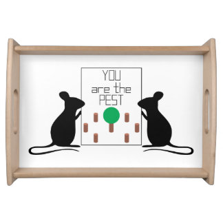 Pest Serving Tray