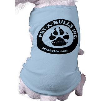 Pet-A-Bulls Doggie Tank Top or Tee Dog T Shirt