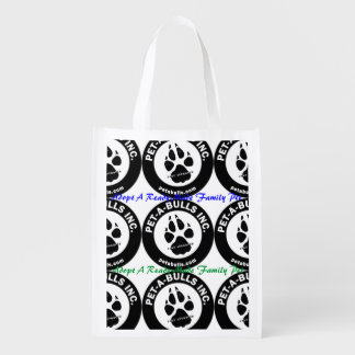 Pet-A-Bulls Reusable Bag Grocery Bag