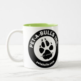 Pet-A-Bulls Two-Tone Coffee Cup