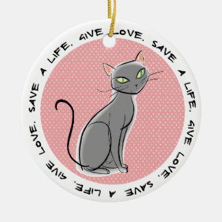 Pet Adoption Christmas Ornament