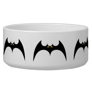 Pet Bowl Bats Halloween Design
