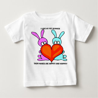 PET BUNNIES TODDLER'S FINE JERSEY T-SHIRT