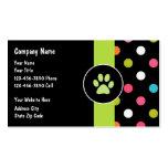 Pet Care Business Cards