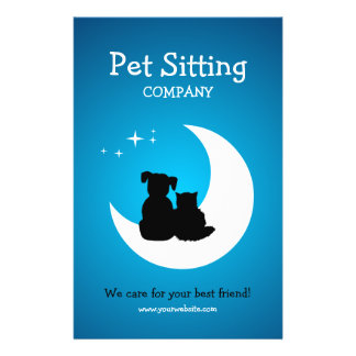 Pet Care / Pet Sitting business flyer