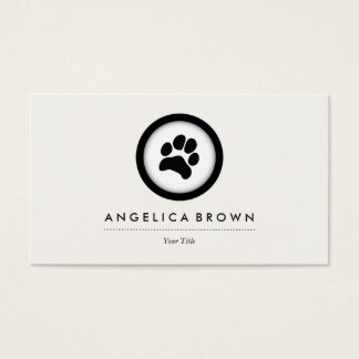 Pet Care Veterinarian Business Card
