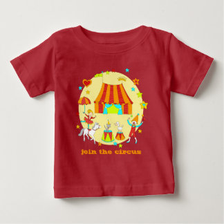 """Pet Circus - """"join the circus"""" Baby T-Shirt"""
