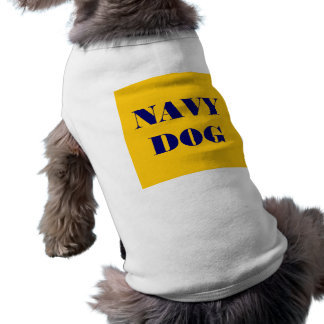 Pet Clothing Navy Dog