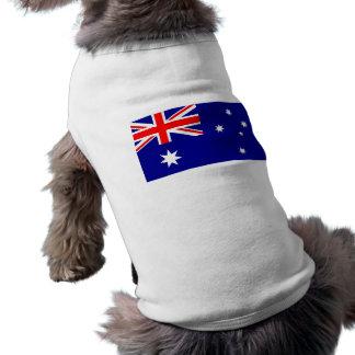 Pet Clothing with Flag of Australia