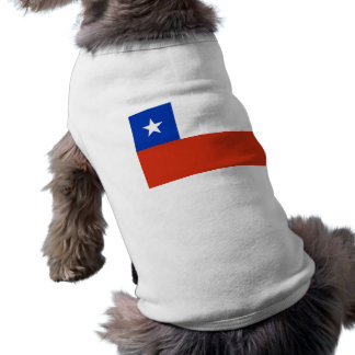 Pet Clothing with Flag of Chile