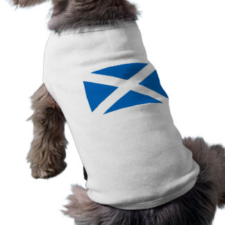 Pet Clothing with Flag of Scotland