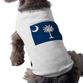 Pet Clothing with Flag of South Carolina, USA