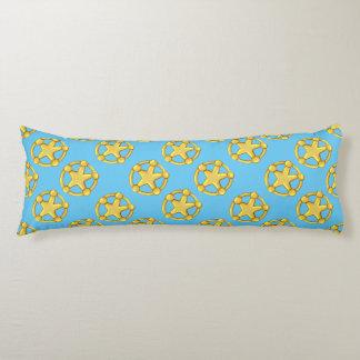 "PET COWBOY Brushed COTTON Pillow 20"" x 54"" STARS"