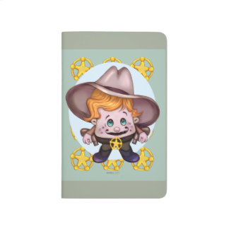 PET COWBOY CARTOON Pocket Journal