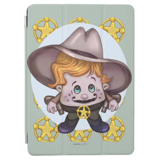 PET COWBOY CUTE CARTOON iPad Air and iPad Air 2 Sm iPad Air Cover
