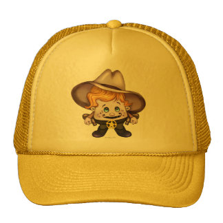 PET COWBOY Trucker Hat YELLOW 2