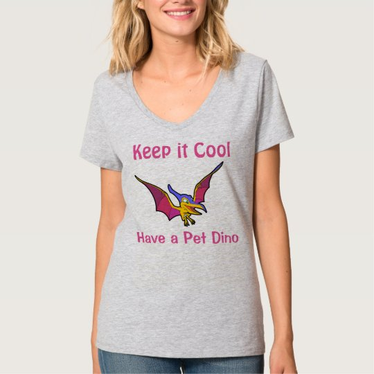 Pet Dino Animal Bird Woman T-Shirt