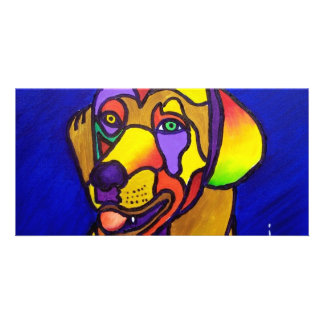 Pet Dog by Piliero Photo Greeting Card