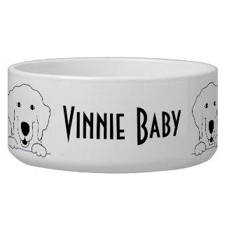 """Pet DOG """"Retriever"""" Bowl Large"""