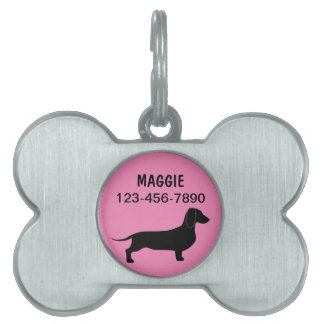 Pet Dog Tags Dachshund