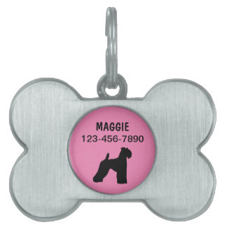 Pet Dog Tags Kerry Blue Terrier