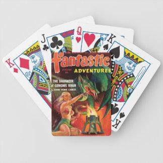 Pet Dragon Bicycle Playing Cards