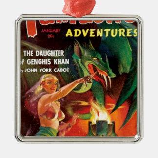 Pet Dragon Metal Ornament