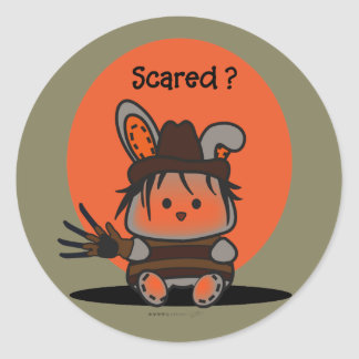 PET EVIL RABBIT HALLOWEEN Auto-Collant Sticker