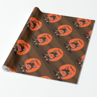 PET EVIL RABBIT HALOWEEN Wrapping Paper