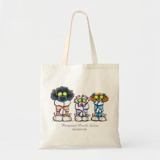 Pet Groomer Spa Dogs Personalized Business Tote Bag