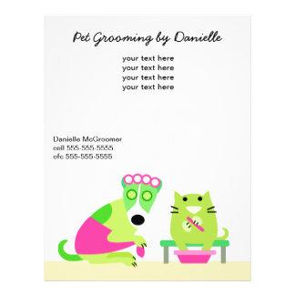 Pet Groomer's Promotional Full Colour Flyer