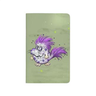 PET GROOVE CUTE ALIEN Pocket Journal Blank