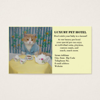 Pet Hotel Business Card