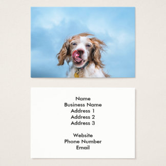 Pet Industry Business Card