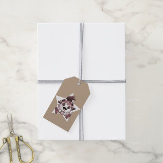 PET JOLY BROWN MONSTER GIFT TAG PACK OF GIFT TAGS