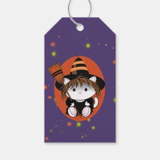 PET LITTLE WITCH HALLOWEEN  GIFT TAG PACK OF GIFT TAGS