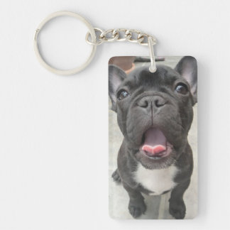 Pet loss |Dog| Memorial Keepsake with poem Double-Sided Rectangular Acrylic Keychain