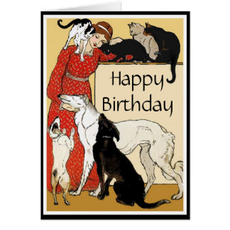 Pet Lover Birthday Card