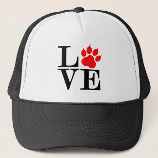 Pet Lover Paw Trucker Hat