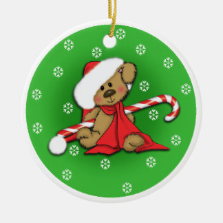 Pet lovers colorful puppy Christmas ornament
