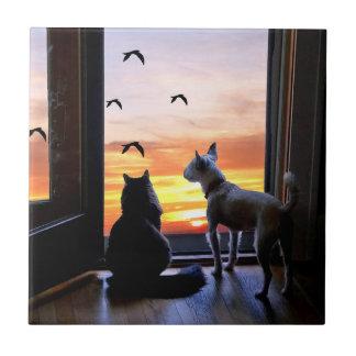 Pet Lovers Decor Tile