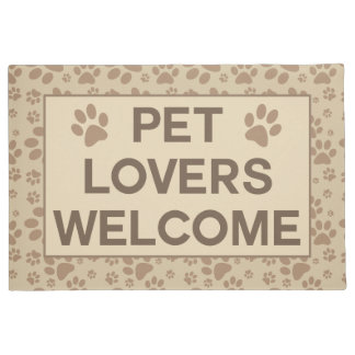 Pet Lovers Welcome Doormat