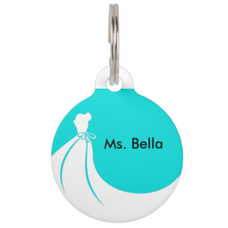Pet Maid of Honor Pet ID Tag