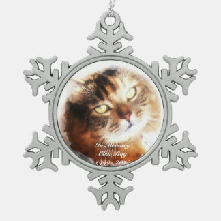 pet memorial add your photo ornament